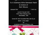 Invitations for 80th Birthday Surprise Party Surprise 80th Birthday Party Invitation