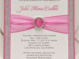 Invitations for A Quinceanera Bright Pink Quinceanera Sweet Sixteen Invitation by