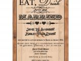 Invitations for A Wedding Reception Only Post Wedding Reception Only Invitation Eat Drink and Be