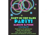 Invitations for Glow In the Dark Party Personalized Glow Invitations Custominvitations4u Com