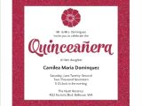 Invitations for Quinceaneras Ideas Modern Pink Faux Glitter Quinceanera Invitation