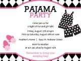 Invitations for Sleepover Party Templates Sleepover Party Invitations Template Best Template