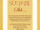 Invitations for Surprise Anniversary Party Surprise Birthday Party Invitation Wording Wordings and
