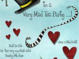 Invitations to A Mad Hatter Tea Party Mad Hatters Tea Party Invitation Template Free