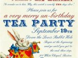 Invitations to A Mad Hatter Tea Party Pin by Amy M On Party Planner