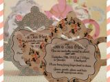 Invitations to A Tea Party the Craft Patch A Tea Party