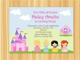 Invite A Princess to Your Party Princess Party Invitation Princess Party Birthday Snow