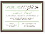 Invite for Wedding Reception Wording Wedding Invitation Elegant Wedding Reception Invitation
