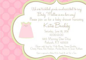 Invite to Baby Shower Wording Baby Shower Invitation Wording Baby Shower Invitation