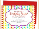 Inviting for Birthday Party Words top 14 Birthday Party Invitation Template Word