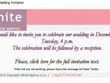 Inviting for Wedding Through Email Email Wedding Invitations Email Wedding Invitations by