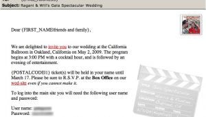 Inviting for Wedding Through Email How to Create Email Wedding Invitations that Save Money