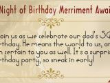 Inviting Friends for Birthday Party Inspiring 50th Birthday Party Invitation Wordings to