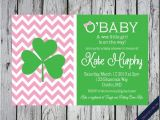 Irish Baby Shower Invitations 46 Best Lucky Irish Babies Images On Pinterest