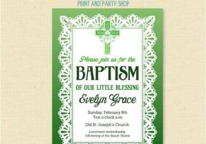 Irish Baptism Invitations 81 Best Godparents Images On Pinterest