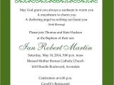 Irish Baptism Invitations Studio Irish Blessing Baptism Invitation Naptime Productions