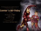 Iron Man Party Invites Iron Man Birthday Invitations Best Party Ideas