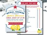 Italian Bridal Shower Invitations Italian themed Shower Invitation and Bonus Game Bridal