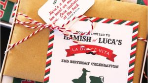 Italian themed Birthday Party Invitations Italian Inspired Birthday Party for Kids Popsugar Moms