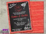 Italian themed Birthday Party Invitations Italian theme Italian Invitations Engagement Party