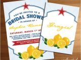 Italian themed Bridal Shower Invitations Italian themed Wedding Bridal or Baby Shower by