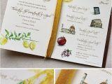 Italian themed Wedding Invitations Italian themed Wedding Invitations Cobypic Com
