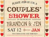 Jack and Jill Baby Shower Invitation Wording Bridal Shower Invitations Couples Wedding Shower