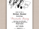 Jack and Jill Bridal Shower Invitations and Jill Wedding Shower Invitations Bridal