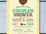 Jack and Jill Bridal Shower Invitations Vintage Wedding Shower Couples Shower Jack and Jill