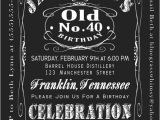 Jack Daniels 40th Birthday Invitations 40th Birthday Jack Daniels Whiskey Label Invitation 5×7 by