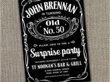 Jack Daniels 40th Birthday Invitations 40th Birthday Party Ideas for Men Google Search