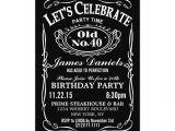 Jack Daniels 40th Birthday Invitations Jack Daniels Whiskey Birthday Party Invitation