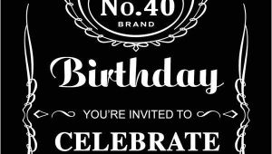 Jack Daniels Birthday Invitation Template Free Jack Daniels In 2019 21st Birthday Invitations Jack