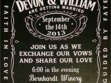 Jack Daniels Wedding Invitations Devon and William Have A Wedding Mandi Holmes Blog