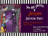 "Jack Skellington Birthday Invitations Jack Skellington Birthday ""jocelyn S Nightmare before"
