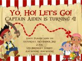Jake and the Neverland Pirates Party Invitations Free Printable Jake and the Neverland Pirates Birthday
