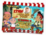 Jake and the Neverland Pirates Party Invitations Jake and the Neverland Pirates Birthday Invitations