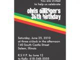Jamaican Party Invitation Template Rasta Birthday Invitation Zazzle Com 13th Birthday