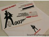 James Bond Party Invitations How to Host the Ultimate James Bond theme Party