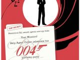 James Bond Party Invitations James Bond Party Invitation
