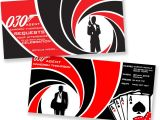 James Bond Party Invitations James Bond Party Invite Party Invitations Ideas