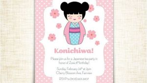 Japanese Birthday Party Invitations Best 25 Japanese theme Parties Ideas On Pinterest