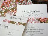 Japanese Cherry Blossom Wedding Invitations Lovely Wedding Invitation Japanese Wedding Invitation Design