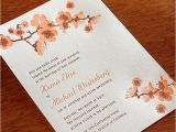 Japanese Cherry Blossom Wedding Invitations New Cherry Blossom Wedding Invitation Hana Letterpress