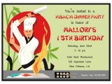 Japanese Dinner Party Invitations Hibachi Party Invitation by that Party Chick Hibachi