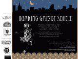 Jay Gatsby Party Invitation Invite New York Junior League 39 S Roaring Gatsby soiree
