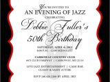 Jazz Party Invitations 1000 Images About 60th Birthday On Pinterest Birthday