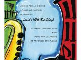 Jazz Party Invitations Jazzy Jazz Birthday Invitations by Invitation