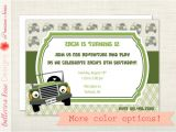 Jeep Baby Shower Invitations Items Similar to Jeep Safari Adventure Birthday Party