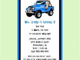 Jeep Baby Shower Invitations Jeep themed Invite Family Pinterest